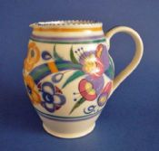 Poole Pottery ED Pattern Jug by Truda Carter c1937